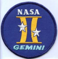 "NASA Gemini Program Patch 3"" #2"
